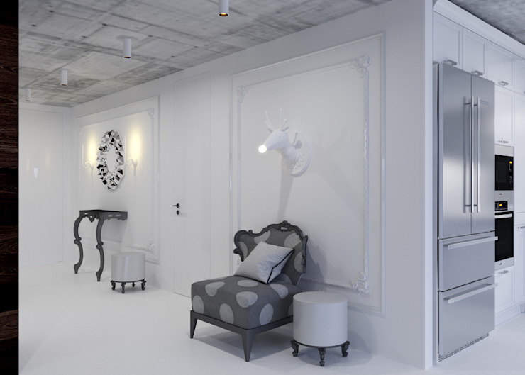 Холл Коридор, прихожая и лестница в стиле минимализм от 3D GROUP Минимализм