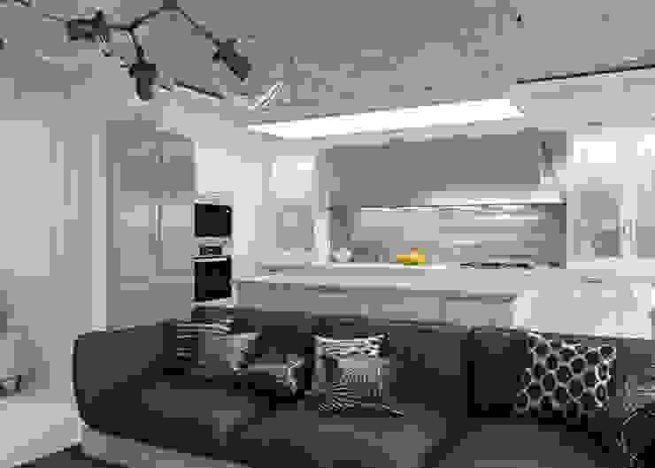 Студия Кухня в стиле минимализм от 3D GROUP Минимализм