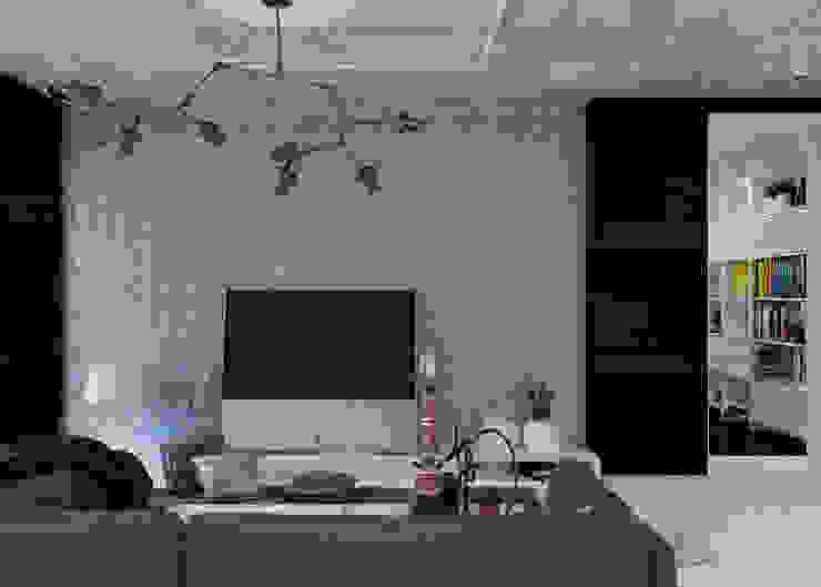 Студия Гостиная в стиле минимализм от 3D GROUP Минимализм