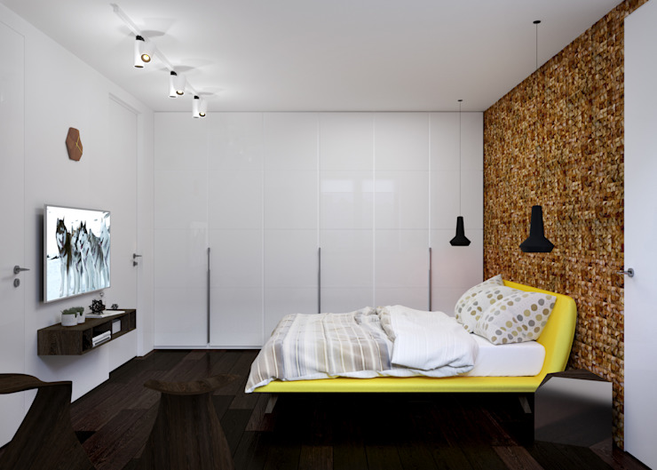 Спальня Спальня в стиле минимализм от 3D GROUP Минимализм