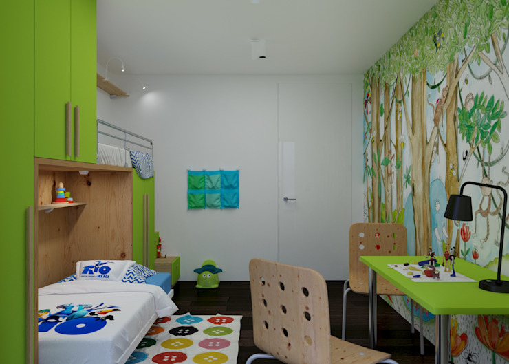 Детская Детская комнатa в стиле минимализм от 3D GROUP Минимализм