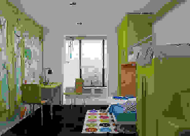 Minimalistyczny pokój dziecięcy od 3D GROUP Minimalistyczny