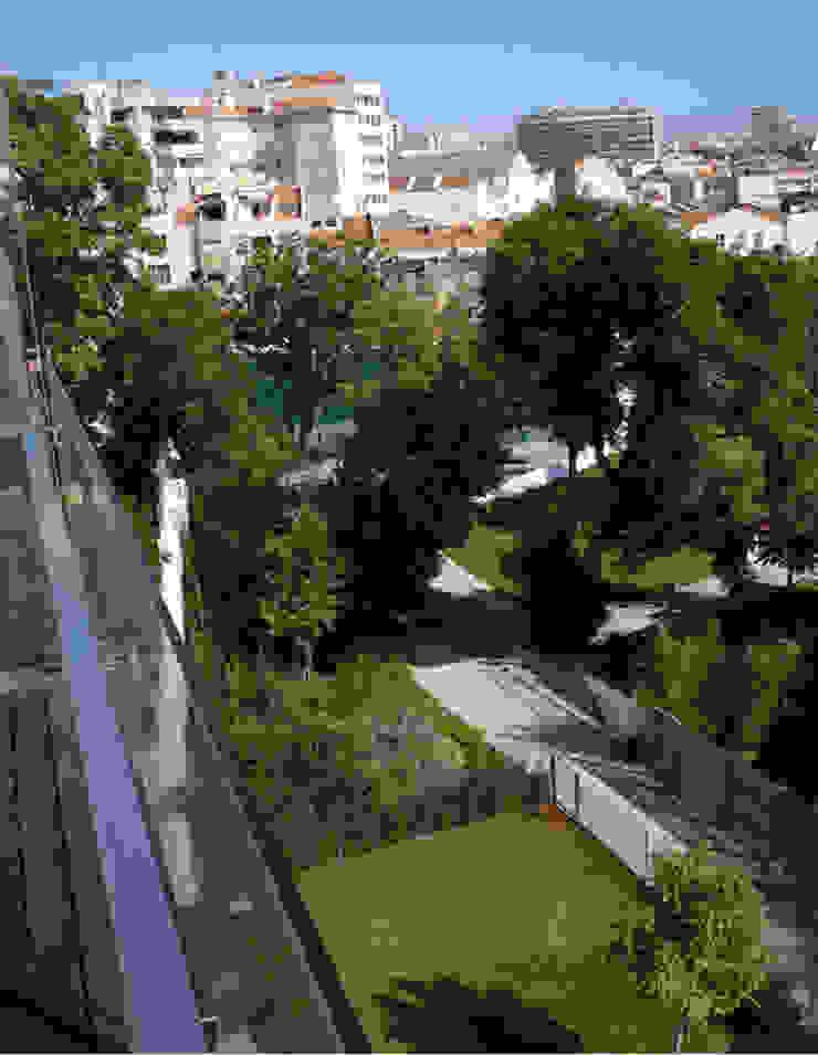 모던스타일 정원 by Ceregeiro-Arquitectura Paisagista 모던