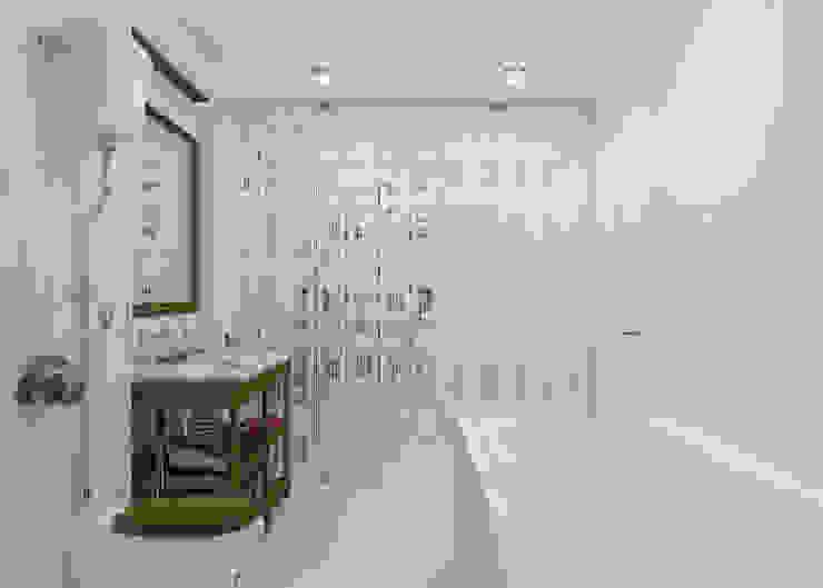 Ванная Fornasetti Ванная комната в стиле минимализм от 3D GROUP Минимализм
