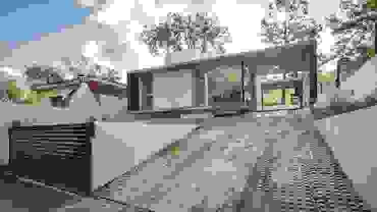 Casa La Viña Casas modernas: Ideas, imágenes y decoración de stc arquitectos Moderno