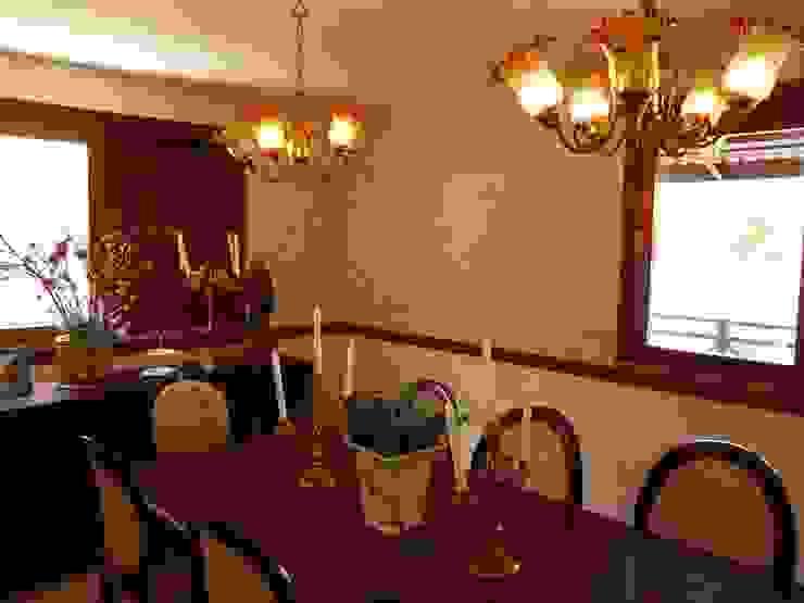 Sala de Jantar Salas de jantar campestres por Eveline Sampaio Arquiteta e Designer de Interiores Campestre