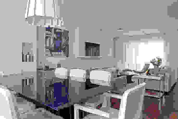 Casa Brooklin Figoli-Ravecca Arquitetos Associados Salas de jantar clássicas