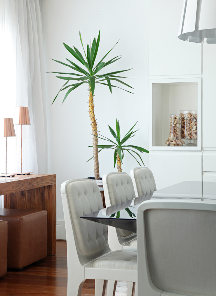 Casa Brooklin Figoli-Ravecca Arquitetos Associados Salas de estar minimalistas