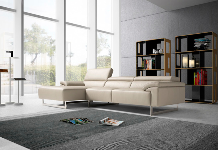 modern  by Divano´s, Modern Leather Grey