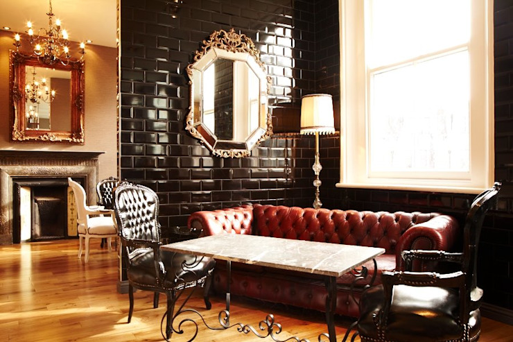Modern bar and restaurant design London Quirke McNamara Bares y Clubs