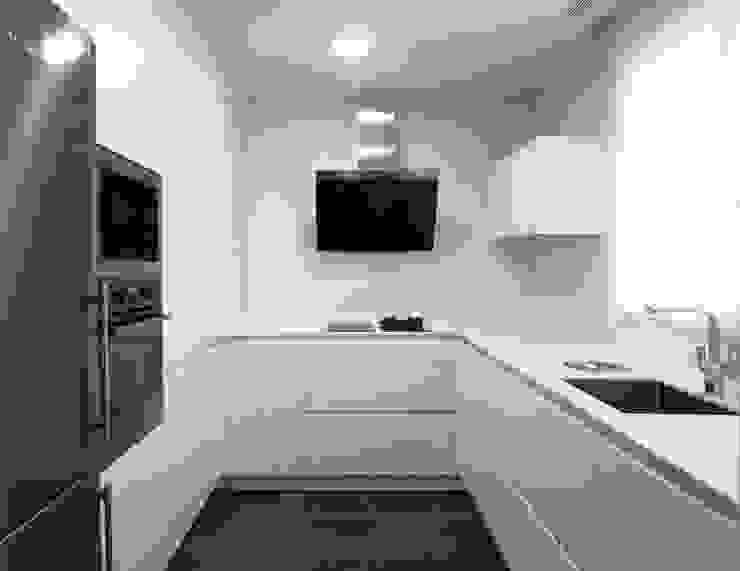 Taller transformado en vivienda Cocinas de estilo moderno de Taller 582 Moderno