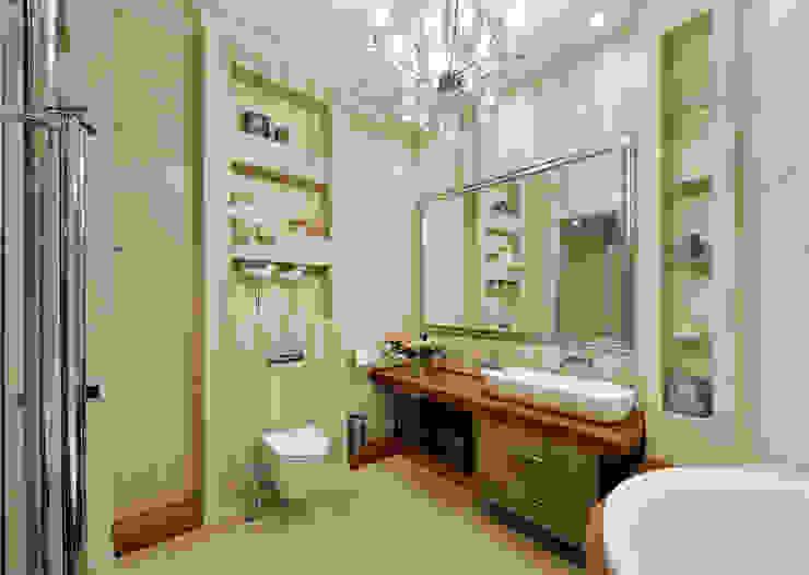 Квартира на Староволынской Ванная комната в стиле модерн от Дизайн-студия «ARTof3L» Модерн