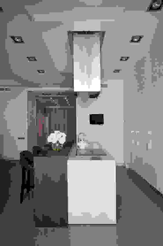 Квартира на Староволынской Кухня в стиле модерн от Дизайн-студия «ARTof3L» Модерн