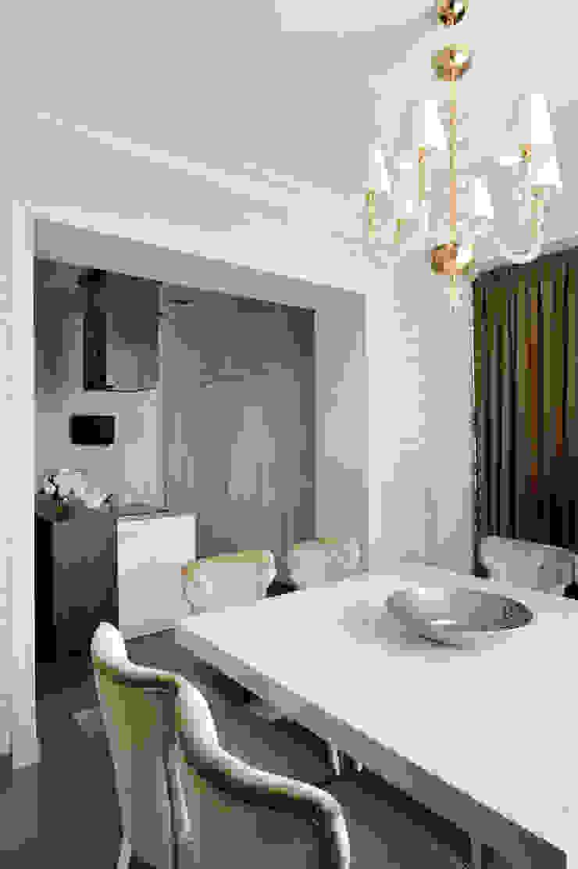 Квартира на Староволынской Столовая комната в стиле модерн от Дизайн-студия «ARTof3L» Модерн