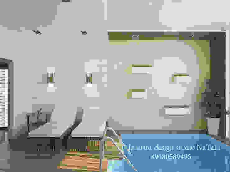 Дизайн интерьера Бассейн в стиле модерн от Студия дизайна Натали Модерн