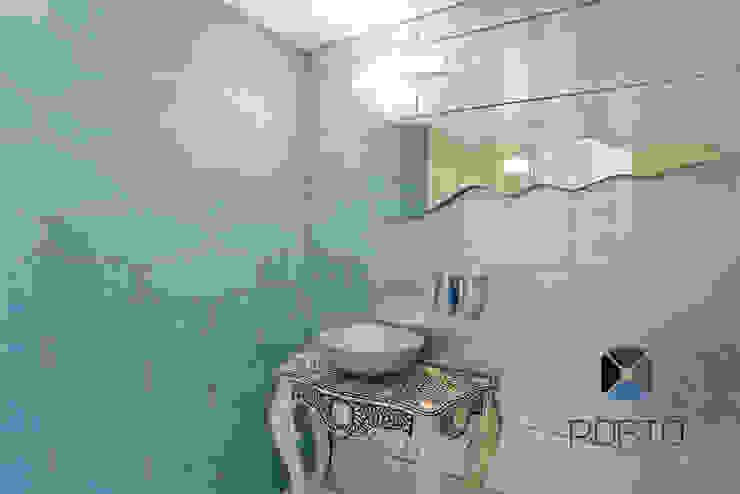 Eclectic style bathroom by PORTO Arquitectura + Diseño de Interiores Eclectic