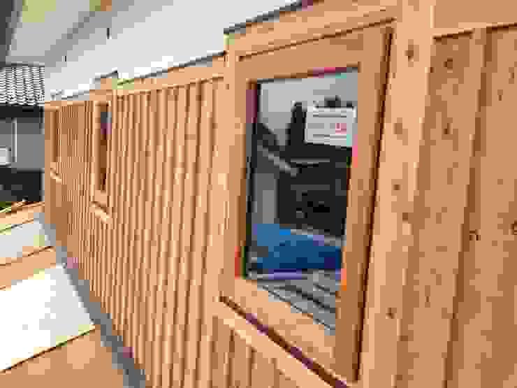 K邸 Renovation オリジナルな 窓&ドア の 株式会社山崎屋木工製作所 Curationer事業部 オリジナル 竹 緑