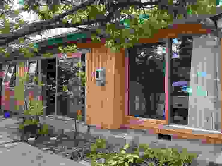 K邸 Renovation オリジナルな 窓&ドア の 株式会社山崎屋木工製作所 Curationer事業部 オリジナル 木 木目調