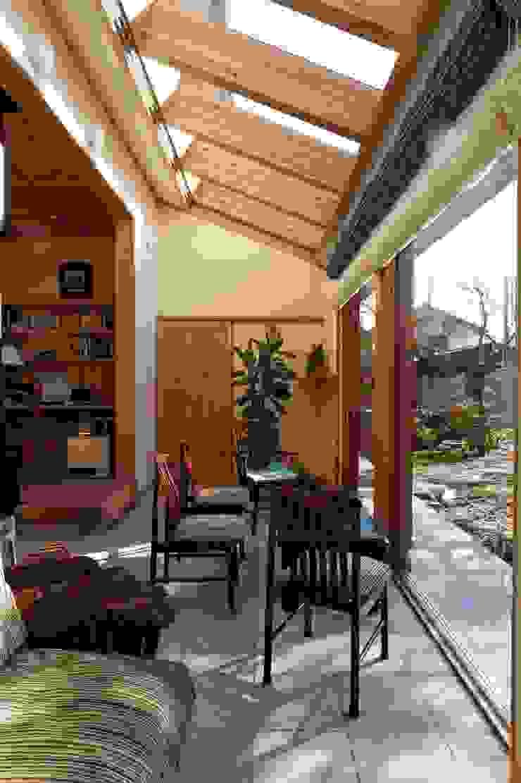 K邸 Renovation オリジナルデザインの 多目的室 の 株式会社山崎屋木工製作所 Curationer事業部 オリジナル 木 木目調