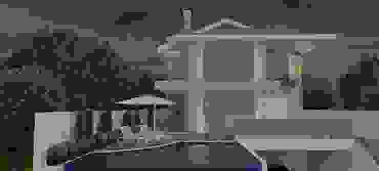 Residência João Paulo Casas clássicas por ANNA MAYA ARQUITETURA E ARTE Clássico Vidro