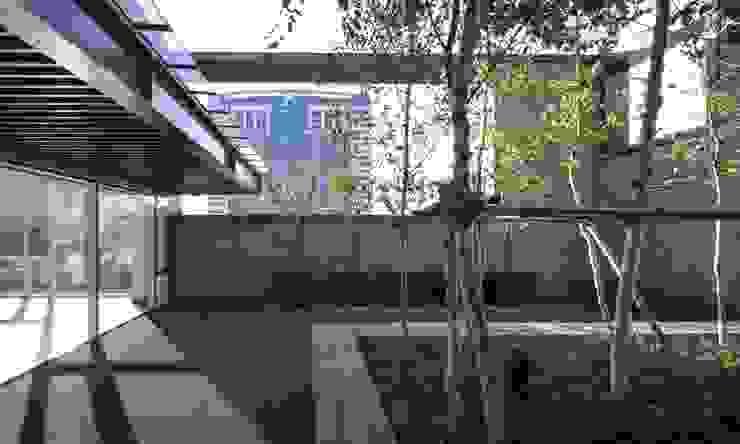 N TOWER GARDEN 모던스타일 정원 by (주)나무아키텍츠 건축사사무소 모던