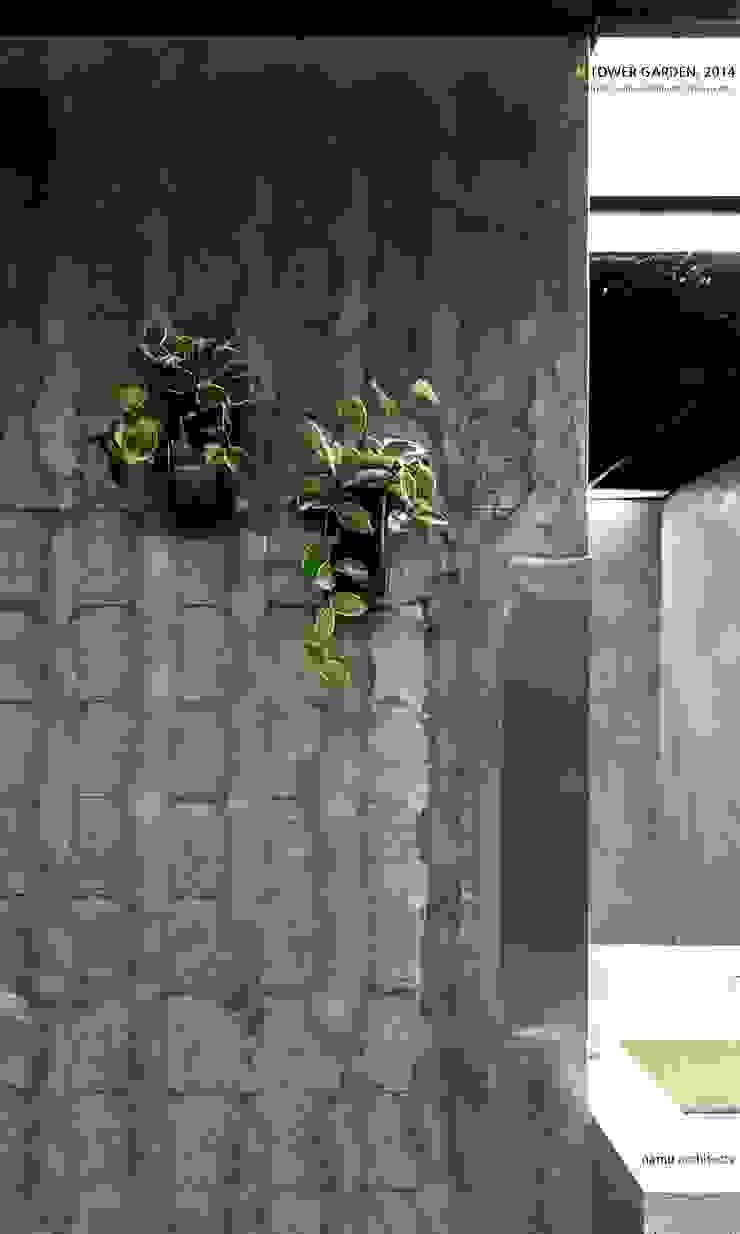 N TOWER GARDEN 모던스타일 욕실 by (주)나무아키텍츠 건축사사무소 모던
