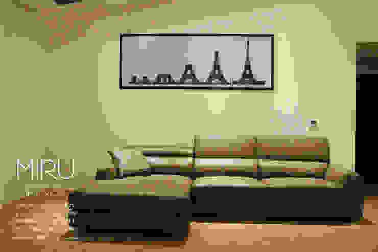 미루디자인 现代客厅設計點子、靈感 & 圖片