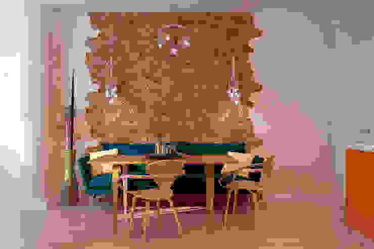 """Дизайн кухни в современном стиле в ЖК """"Панорама"""" Кухня в стиле модерн от Студия интерьерного дизайна happy.design Модерн"""