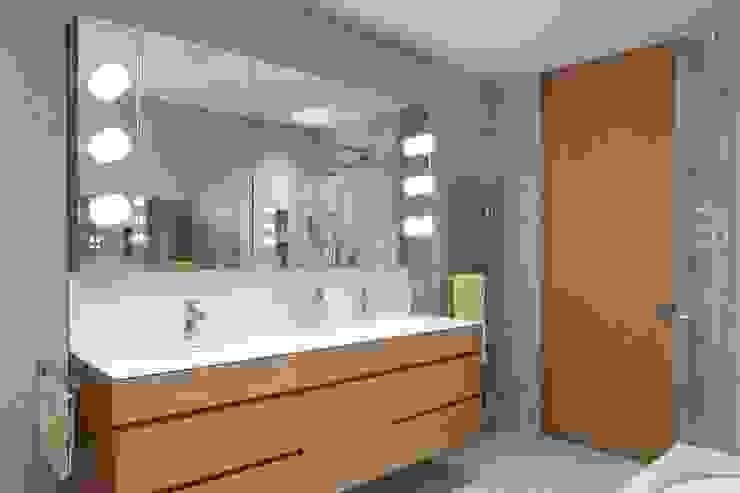 Badezimmer Moderne Badezimmer von GAHLEITNER ARCHITEKTEN Modern Stein