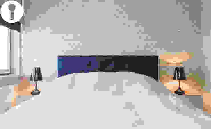 Kamar Tidur Modern Oleh Urządzamy pod klucz Modern