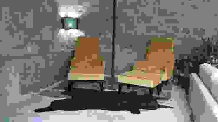 SALA ESTAR: Sala de estar  por Atelier Ana Pereira Arquitetura e Decoração de Interiores