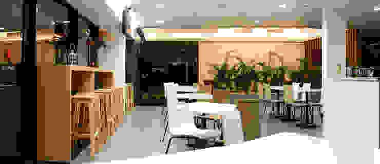 Cafetaria Ginásios modernos por Estúdio AMATAM Moderno