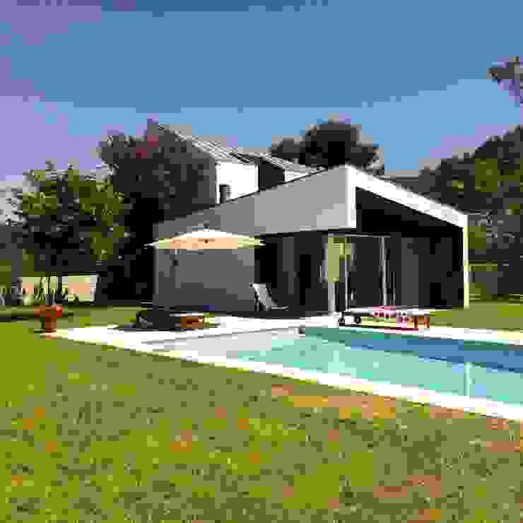 Bárbara abreu Arquitetos Modern houses White