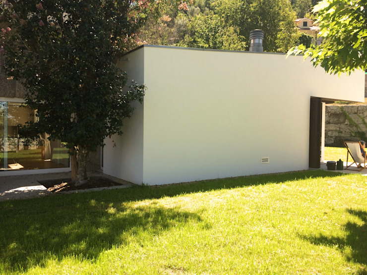 Bárbara abreu Arquitetos Casas modernas Blanco