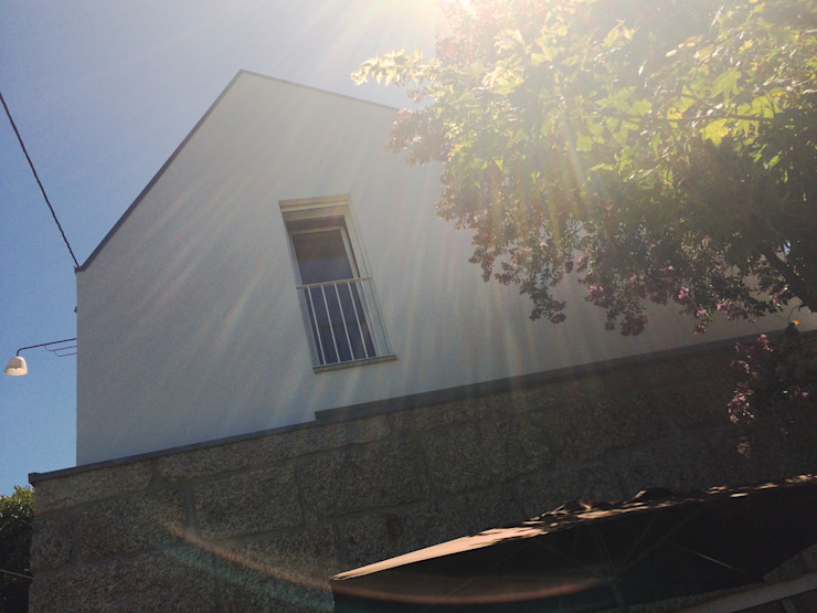 Bárbara abreu Arquitetos Casas modernas Piedra Blanco