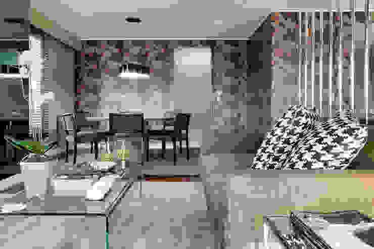 Apartamento Porto Salas de estar modernas por Jorge Cassio Dantas Lda Moderno