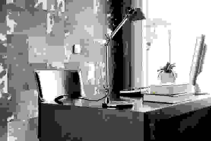 Moderne studeerkamer van Jorge Cassio Dantas Lda Modern