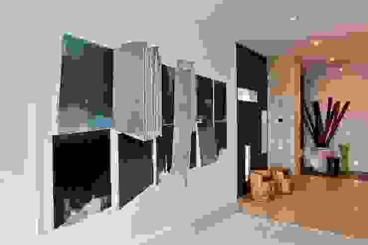 Hall Corredores, halls e escadas ecléticos por Viterbo Interior design Eclético