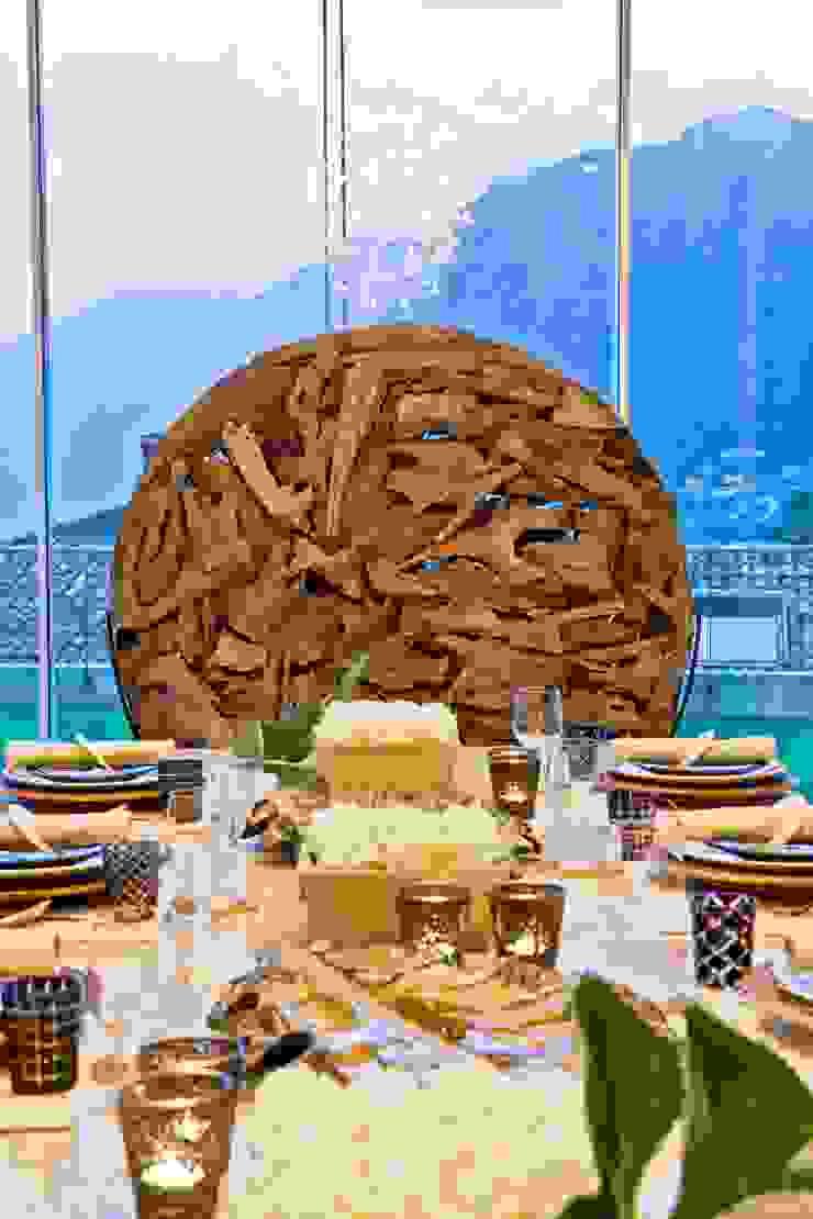 Dining Details Salas de jantar ecléticas por Viterbo Interior design Eclético