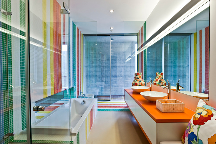 Kids Bathroom Viterbo Interior design ห้องน้ำ