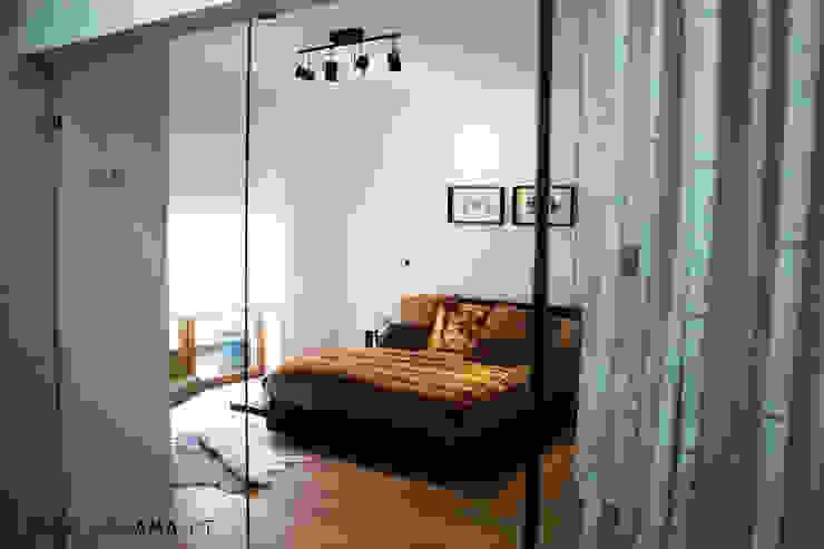 SCANDINAVIAN HOUSE PROJECT Quartos escandinavos por ARQAMA - Arquitetura e Design Lda Escandinavo