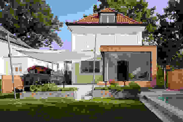 Maisons de style  par aichberger architektur ZT, Classique Bois Effet bois
