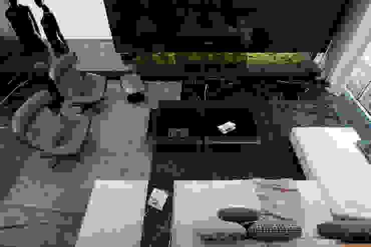 Apartment in Kiev. Ukraine Гостиная в стиле минимализм от Diff.Studio Минимализм