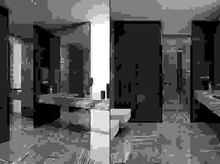 Apartment in Kiev. Ukraine Ванная комната в стиле минимализм от Diff.Studio Минимализм