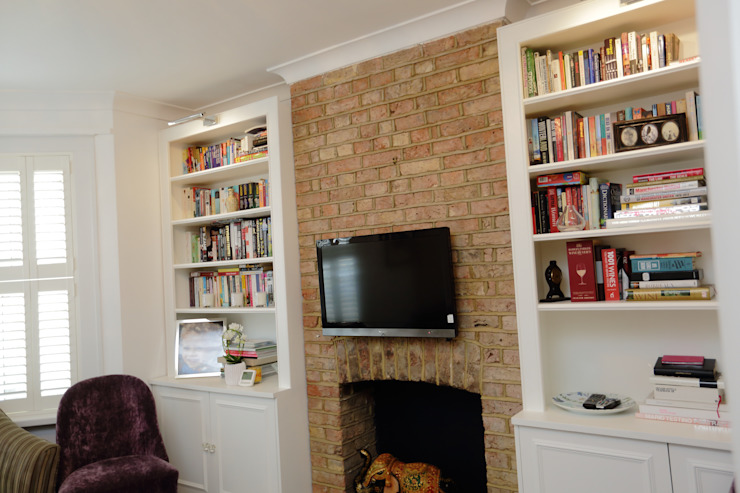 Single Storey Extension, Roxborough Rd Ruang Media Modern Oleh London Building Renovation Modern