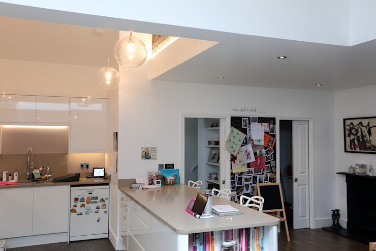 Single Storey Extension, Roxborough Rd Dapur Modern Oleh London Building Renovation Modern