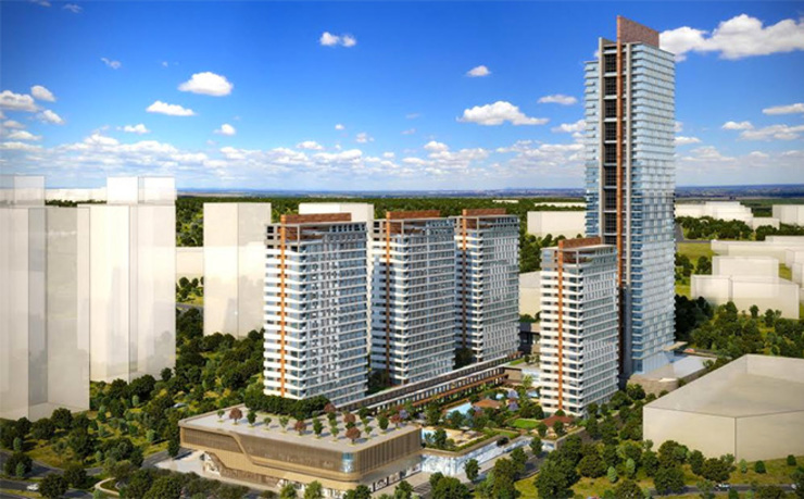 CCT 162 PROJECT NEW LAUNCHING PROJECT IN BEYLIKDUZU Modern Evler CCT INVESTMENTS Modern