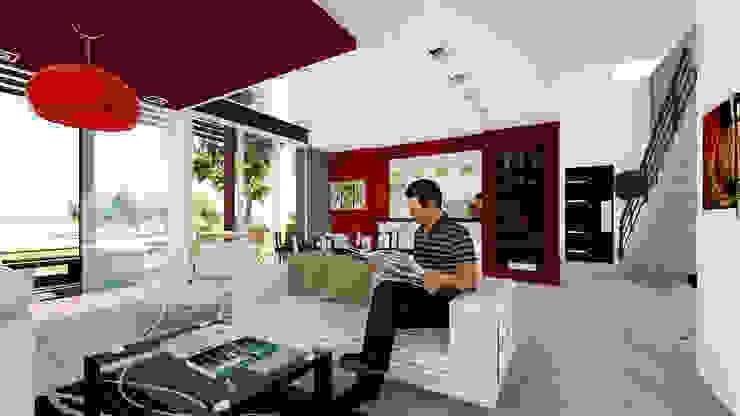 Casa E&M Livings modernos: Ideas, imágenes y decoración de Módulo 3 Arquitectura Moderno