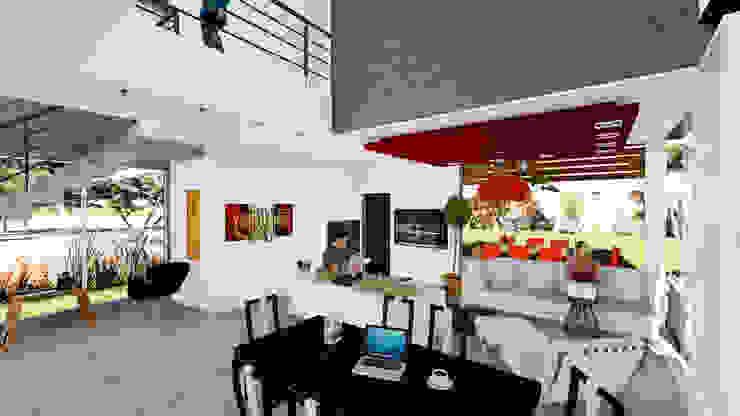 Casa E&M Comedores modernos de Módulo 3 Arquitectura Moderno