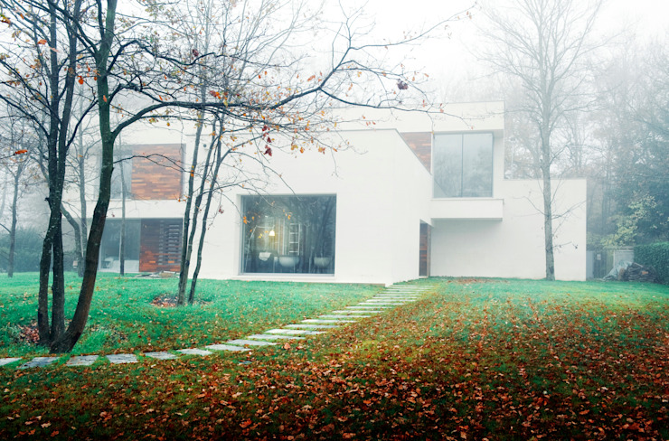 Scandinavian style houses by rdl arquitectura Scandinavian